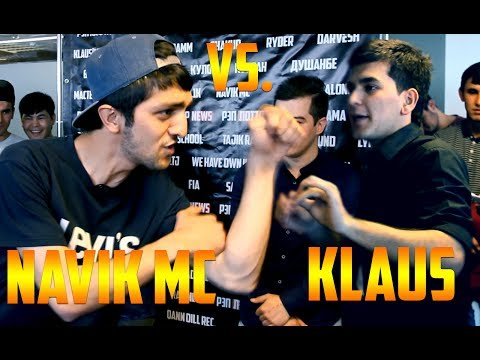 Видео Battle Navik MC vs. Klaus (RAP.TJ in Moscow)