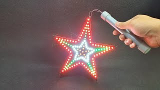 Build a Led Star Lantern At Home - YouTube