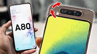 Samsung Galaxy A80 Hands-On - Rotating Camera Madness!