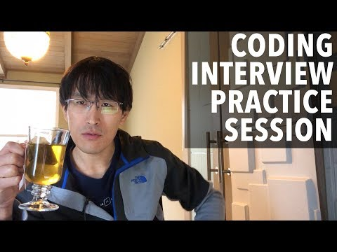 Coding Interview Practice Session