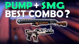 THE BEST LOADOUT IN FORTNITE? | PUMP TAC SMG | PRO & FUNNY GAMEPLAY - (Fortnite Battle Royale)