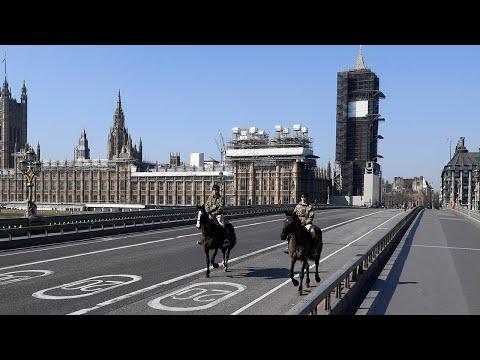 UK lockdown: Tourist hotspots deserted due to coronavirus