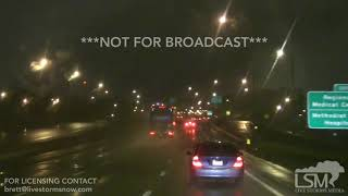 11-13-18 Memphis, TN Cold -  Wet Roadways & Windy Conditions - Snow Aloft from the Air
