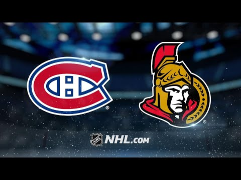 Hudon dazzles in the Habs' 8-3 road win against Sens