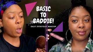 GRWM: Basic to Baddie | EASY Everyday Makeup for Beginners | 10 Minute Makeup