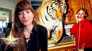 Dakota Johnson's Grandmother Tippi Hedren Owns 14 Lions & Tigers | The Graham Norton Show