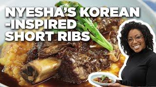 Korean-Inspired Braised Short Ribs With Nyesha Arrington | Food Network