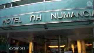 preview picture of video 'NH Numancia Gay Friendly Hotel, Les Corts, Barcelona - Gay2Stay.eu'