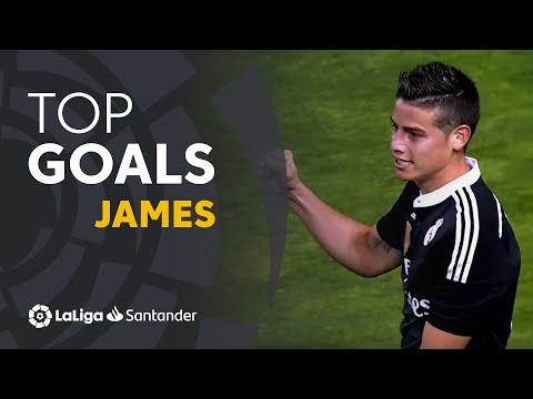 James Rodriguez: Golazos con el Real Madrid en LaLiga Santander