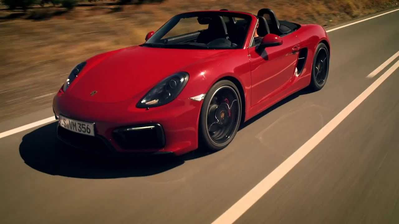 Video: The New Porsche Boxster GTS Tears Up Some Mountain Roads