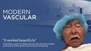 Patient Testimonial at Modern Vascular