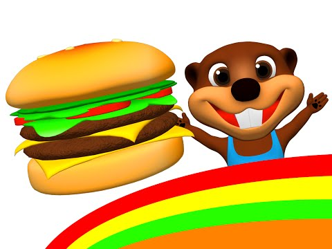 Happy Hamburger Im Happy Song More Kids Make A Burger Hot