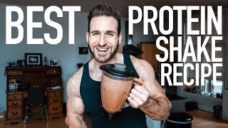 HOW TO MAKE A PROTEIN SHAKE   BEST CHOCOLATE PROTEIN SHAKE RECIPE