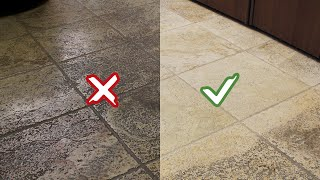 Faber - How to deep clean ✨ porcelain tiles, marble and all floors without damaging them