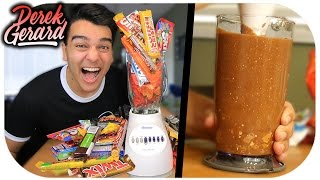EVERY CHOCOLATE BAR IN A SMOOTHIE!!! (CHUNKY AS HELL)