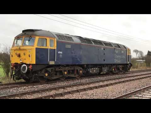 Collision Damaged 47815 in Foxton Exchange Sidings 14th Febr…