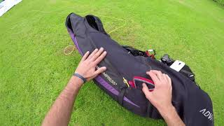 Paragliding Tutorial 01: Setting up and packing