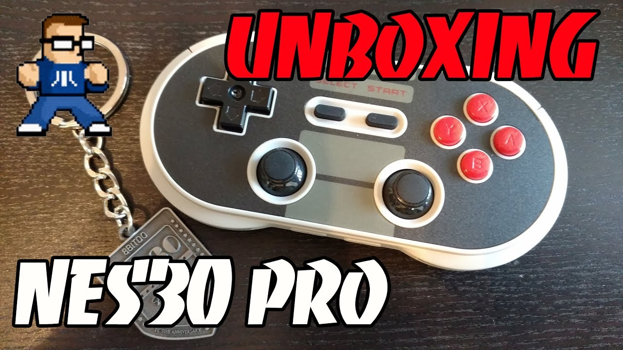 8BitDo NES30 Pro Controller Unboxing