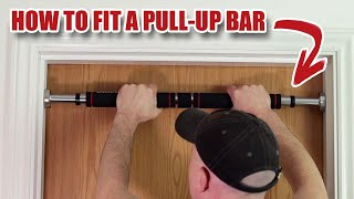 How to Fit a Pull-up Bar in a Doorway