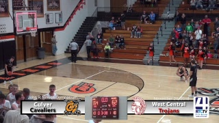 Culver Boys Varsity Basketball vs West Central