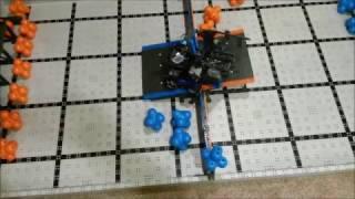 Early November programming test run (in robotics lab)