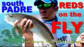 FLY FISHING REDFISH South Padre Island, Texas