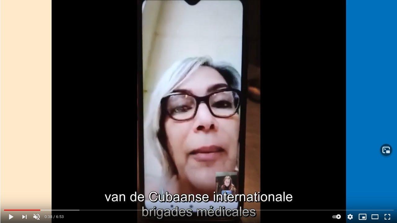 """Dr. Aissa Naranjo: """"De tekorten en noden in Cuba zijn groter dan ooit, het is een cocktail van een verstikkende blokkade en de pandemie"""""""