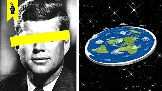 How Conspiracies Changed (Flat Earth, Anti Vaxxers) – Wisecrack Edition