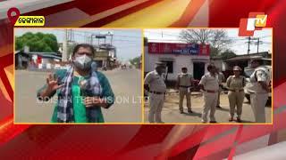 Coronavirus Update-Dhenkanal Town Wears A Deserted Look Following Lockdown Order