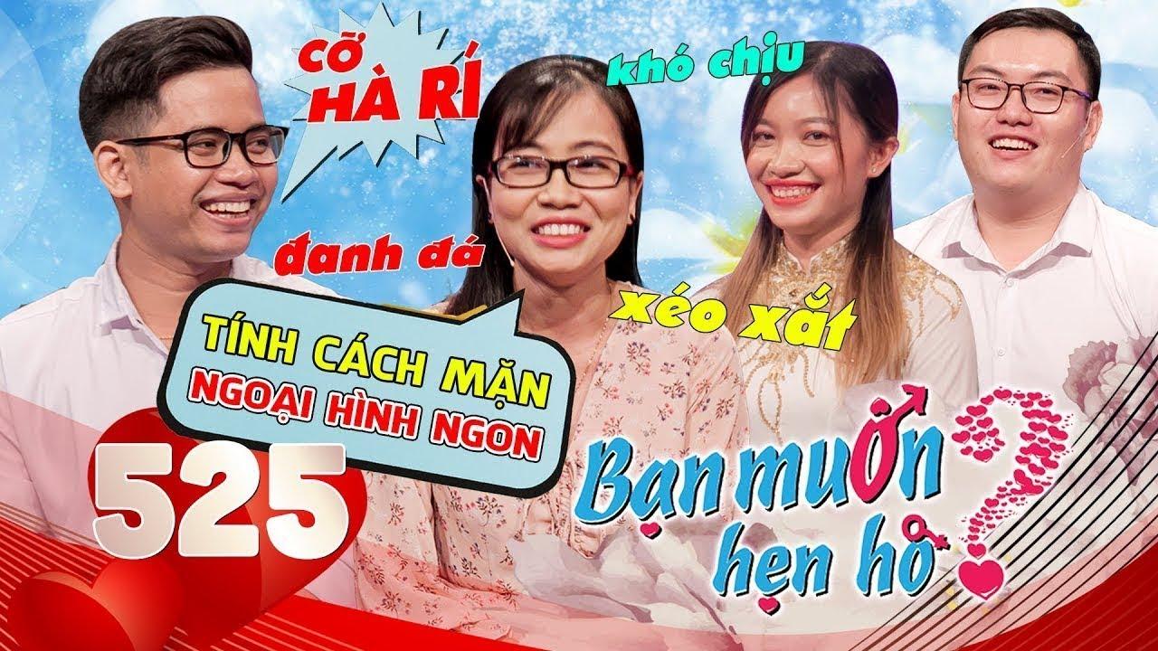 Bạn Muốn Hẹn Hò|Tập 525 FULL|Trai Cà Mau bị GAY thả dê lên BMHH tìm vợ bị cô gái Long An từ chối phũ
