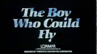 Trailer of The Boy Who Could Fly (1986)