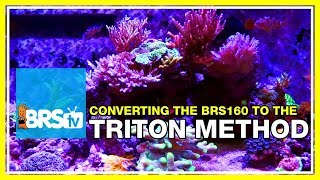 Update 4: Converting the BRS160 to the Triton Method | 52 Weeks Of Reefing #BRS160