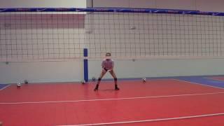 Rylee Zimmer Volleyball Video