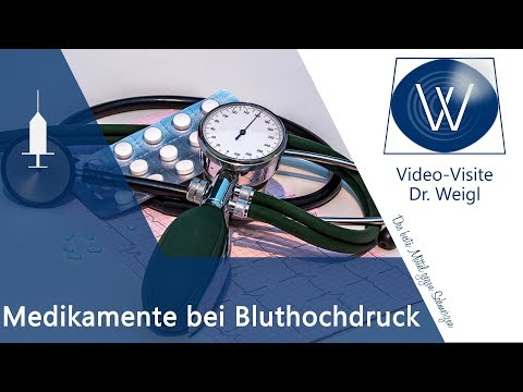 Hypertensive Krise dringend Hilfe Video
