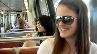 Alexis' First Ride on the Metro