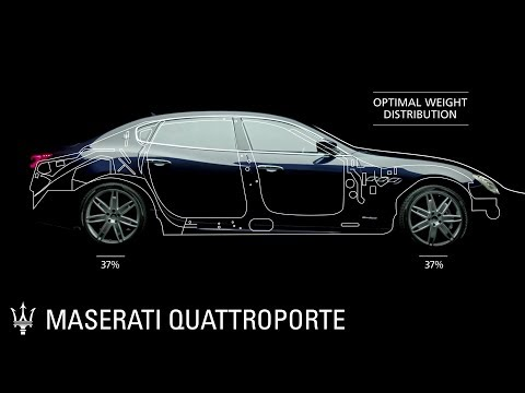 Maserati Quattroporte. Features and Options