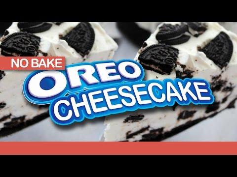 NO BAKE OREO CHEESECAKE - Easy & Delicious