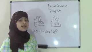 5th Grade Math : Distributive Property