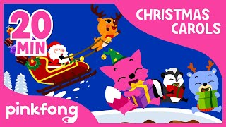 Jolly Old St. Nicholas | Christmas Carols | + Compilation | PINKFONG Songs for Children
