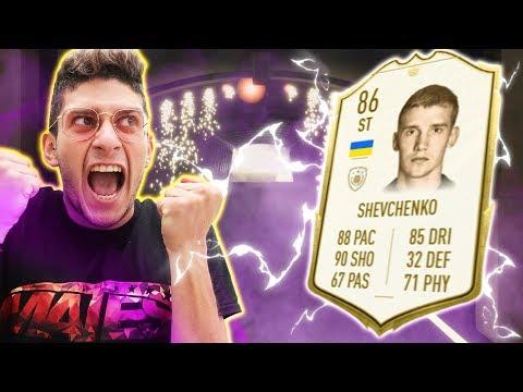 LA MIA ROSA CON SHEVCHENKO ICONA!! SPACCHETTIAMO PER IL RITORNO SU FIFA 20!!