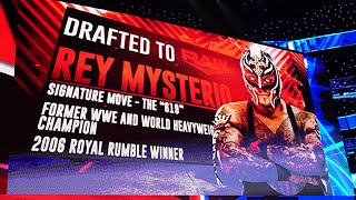 Rey Mysterio goes to Raw and more in WWE Draft Sixth Round: Raw, Oct. 14, 2019