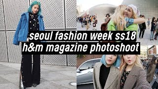 Seoul Fashion Week 2018: H&M Magazine Photoshoot Behind the Scene | DTV #50