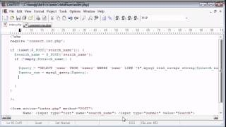 132   LIKE With a Search Engine Example Part 3   PHP Tutorials