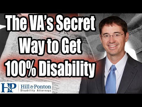 Video VA Compensation Benefits Unemployability or IU