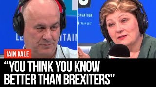 "Emily Thornberry Told ""You're Why People Are Flocking To Nigel Farage"" - Iain Dale - LBC"