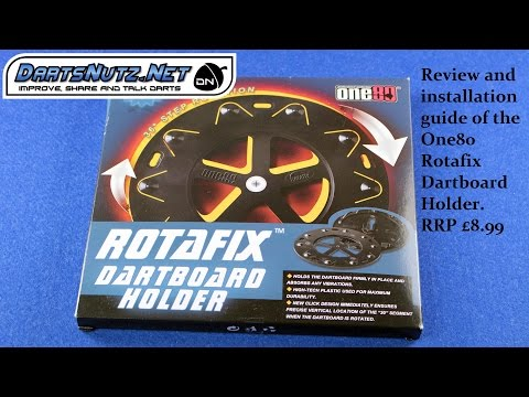 One80 Rotafix dartboard holder review and installation guide