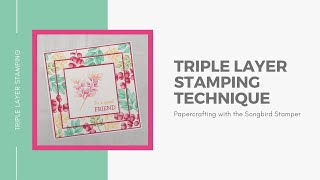 Triple Layer Stamping