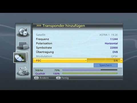 Videoanleitung zum Empfang von ORF SPORT + via Satellit