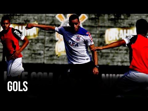 Gols da goleada de 4x0 no jogo treino do Corinthians