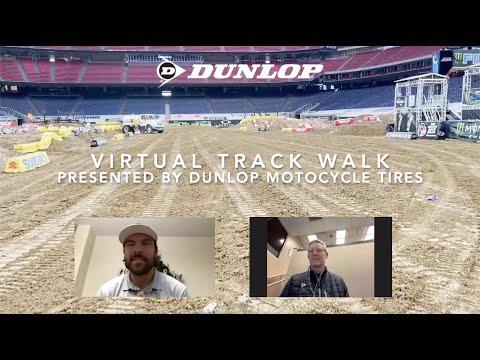 2021年 スーパークロス第1戦ヒューストンのコースレイアウト動画(バーチャル版)